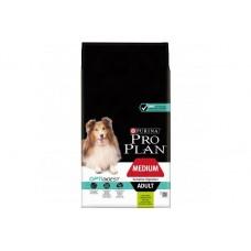 Сухой корм Purina Pro Plan для взрослых собак средних пород с чувствительным пищеварением, ягнёнок, 18 кг