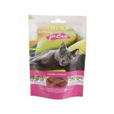TiTBiT Вяленые лакомства - соломка куриная для кошек