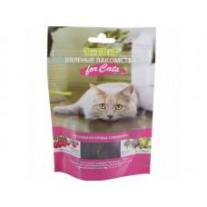 TiTBiT Вяленые лакомства кусочки из сердца говяжьего для кошек