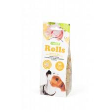TiTBiT Печенье Rolls для собак мелких пород, индейка/сыр, 100 гр
