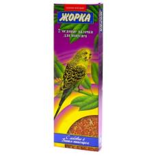 Лакомство Жорка, палочки для волнистых попугаев, 2 шт, 80 г