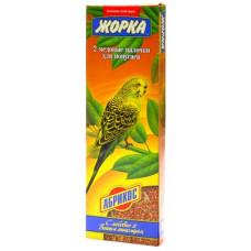 Лакомство Жорка, палочки для попугаев с абрикосами, 2 шт, 70 г