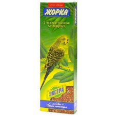 Лакомство Жорка, палочки для попугаев, экстра, 2 шт, 80 г
