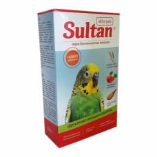 Корм Султан для волнистых попугаев, фруктово-овощная трапеза, 500 г