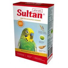 Корм Султан для волнистых попугаев, полноценная трапеза, 500 г