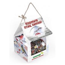 Кормушка с кормом Зоомир для уличных птиц, 2 порции, 300 г
