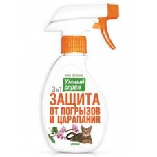 """""""Умный Спрей"""" защита от погрызов и царапания для кошек, 250 гр"""