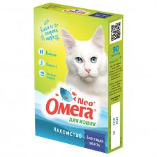 Омега NEO для кошек Блестящая шерсть, 90 таблеток