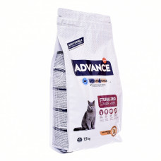 Корм Advance Sterilized 10 Years Senior для стерилизованных кошек старше 10 лет