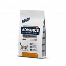 Корм Advance Obesity Management для кошек при ожирении, ветеринарная диета