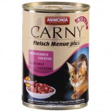 Корм Animonda Carny Adult для кошек, коктейль из разных сортов мяса, банка, 400 г