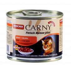 Animonda консервы для кошек с говядиной и курицей, Carny Adult