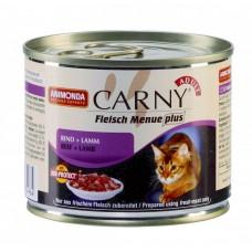 Animonda консервы для кошек с говядиной и ягненком, Carny Adult