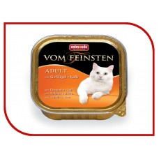 Animonda консервы для кошек с домашней птицей и телятиной, Vom Feinsten Classic