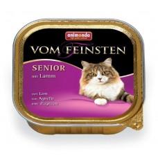 Animonda консервы для кошек старше 7 лет с ягненком, Vom Feinsten Senior