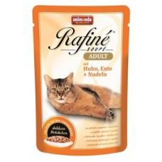 Animonda паучи для кошек с птицей, кроликом и ветчиной, Rafine Soupe Adult