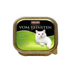 Корм Animonda Vom Feinsten for castrated cats для кастрированных кошек, индейка, ламистер, 100 г