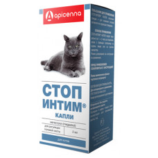 "Капли Apicenna ""Стоп-Интим"" для котов, 2 мл (контрацепция)"
