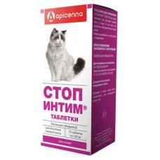 "Apicenna ""Стоп-Интим"" для кошек, 15 таблеток"