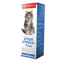 "Капли Apicenna ""Стоп-Стресс Плюс"" для кошек, 30 мл"