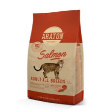 Корм Araton для взрослых кошек, лосось