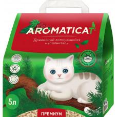 Наполнитель AromatiCat древесный комкующийся, 2 кг, 5 л