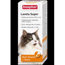 Масло Beaphar Laveta Super for Cats для кожи и шерсти кошек, 50 мл