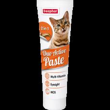 Мультивитаминная паста Beaphar Duo Active для кошек, 100 г