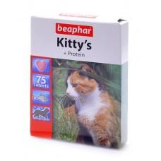Витамины (рыбки) для кошек с протеином, 75 шт., Kitty's Protein