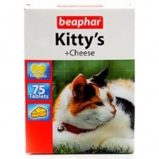 Витамины (мышки) для кошек со вкусом сыра, 75 шт., Kitty's Cheese