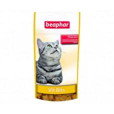 Лакомство Beaphar Vit Bitsдля кошек с витаминной пастой, 75 шт.