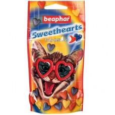 Лакомство Beaphar Sweet Hearts Trully delicious для кошек в форме сердечек, 150 шт.