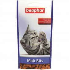 Лакомство Beaphar Malt Bits для вывода шерсти, курица, синий цвет, 300 шт.