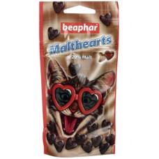 Лакомство (сердечки) Beaphar MaltHearts для вывода шерсти, 150 шт.