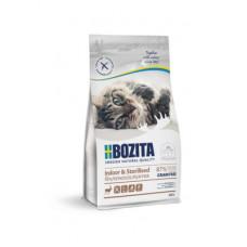 Корм Bozita Indoor & Sterilised для взрослых и растущих кошек, ведущих малоподвижный, домашний образ жизни, беззерновой, олень
