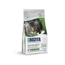 Корм Bozita Active & Sterilized Grain Free Lamb 33/20 для активных стерилизованных взрослых и растущих кошек, беззерновой, ягненок