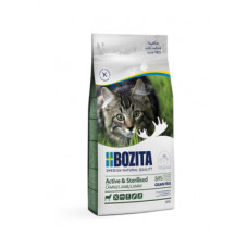 Корм Bozita Active & Sterilized Grain Free Lamb 33/20 для активных стерилизованных взрослых и растущих кошек, беззерновой, ягненок, 10 кг