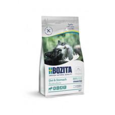 Корм Bozita Sensitive Diet & Stomach Grain Free 34/10 для кошек с чувствительным пищеварением, избыточным весом и для кошек старше 7 лет, беззерновой, лось