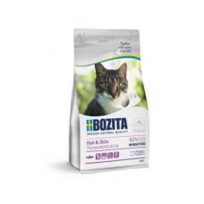 Корм Bozita Hair&Skin для взрослых и растущих кошек для здоровья кожи и шерсти, беззерновой, без пшеницы, лосось
