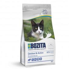 Корм Bozita Outdoor&Active 30/20 для растущих и взрослых активных кошек, беззерновой, лось