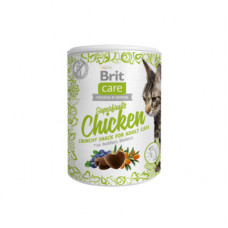 Лакомство Brit Care Superfruits Chicken для кошек, курица, 100 г