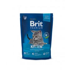 Корм Brit Premium Cat Kitten для котят, курица/лососевый соус