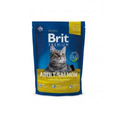 Корм Brit Premium Cat Adult для взрослых кошек, лосось