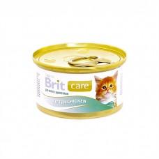 Корм Brit Kitten Chicken для котят, курица, банка, 80 г