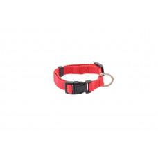 Ошейник Дарэлл Евро, синтетический, красный, обхват 25 см - 35 см, 15 мм