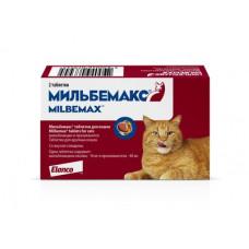 Elanco Мильбемакс для кошек от глистов, 2 таблеток