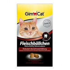 Мясные шарики для кошек для очистки зубов
