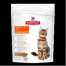 Hill's Science Plan Optimal Care корм для кошек от 1 до 6 лет, ягненок, 400 гр