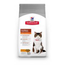 Hill's Science Plan Feline Adult Hairball Control корм для кошек от 1 до 6 лет для выведения шерсти