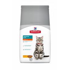 Hill's Science Plan Indoor Cat корм для взрослых кошек, живущих в домашних условиях, 4 кг